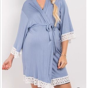 PinkBlush Maternity Robe